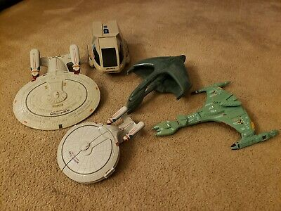STAR TREK Next Generation Playmates ENTERPRISE Shuttle Warbird Bird of Prey
