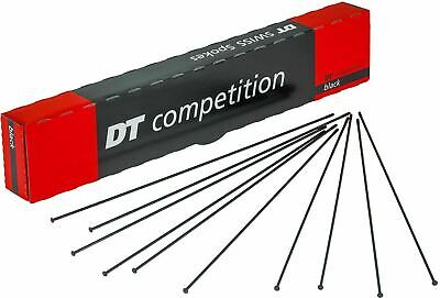 DT Swiss Competition Race black straight pull one spoke nipple 260-300mm Roval