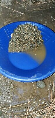 25 Lbs. Guaranteed Unsearched Gold Panning Paydirt Black River Washington