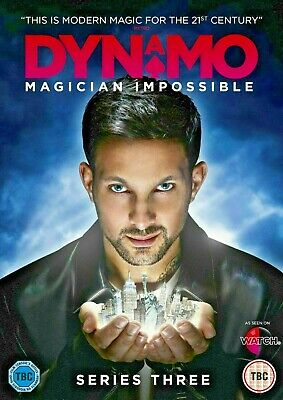 Dynamo - Magician Impossible - Series 3  Region 2 Dvd (2-Disc Set) New Sealed