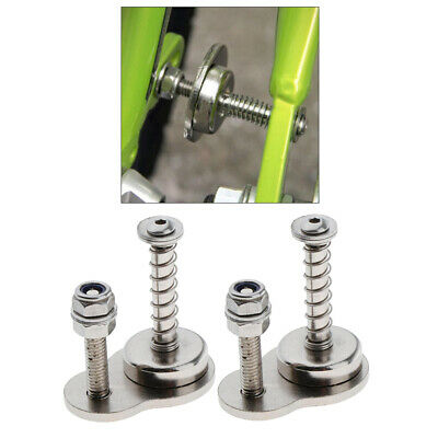 2pcs Magnetic Block Catch Holder for Folding Bicycle Storage Carry Frame Lock