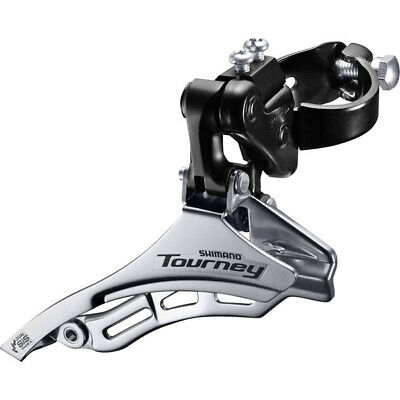 Shimano Tourney 7-Speed Front Derailleur Double FDA070A Black NEW