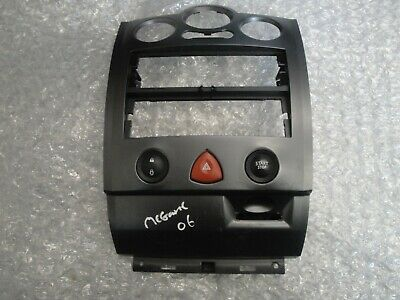 Renault Megane MK3 2008-2014 Cd Heater Centre Controls Surround Trim 682600003r