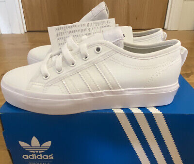 Cobertizo silbar distorsionar  ADIDAS ORIGINALS TRAINERS, Nizza Lo Junior Size 4, Brand New - £26.00 |  PicClick UK