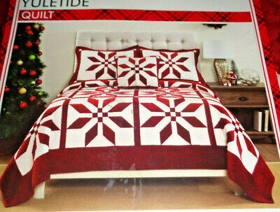 Living Quarters Yuletide Full Queen, Queen Size Holiday Bedding