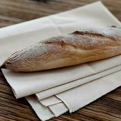 Proofing Cotton Fermented Cloth Dough Bakers Pans Proving Tools Bread F5H5