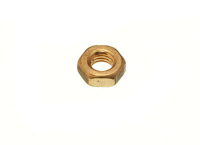 Pack of 1000 Solid Brass Hexagon Hex Head Nut Full Nut  M3 3Mm