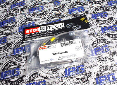 Stoptech Stainless Steel Braided Brake Lines fits Acura RSX 950.40003