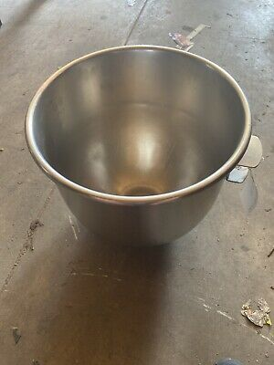 HOBART VMLH-30 Stainless Steel 30QT Quart Mixing Bowl For Commercial Stand Mixer