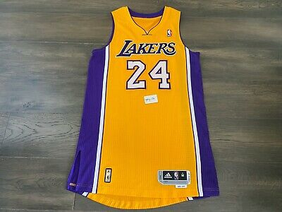 Authentic 2010 11 Adidas Los Angeles Lakers Kobe Bryant Home Jersey M 40 44 888 98 Picclick