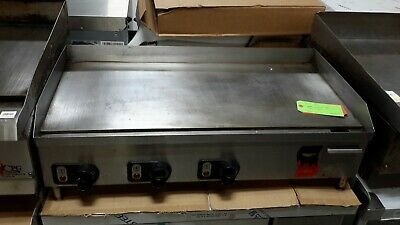 """Used 36"""" Vollrath Countertop Electric Griddle,  220V/1Ph"""