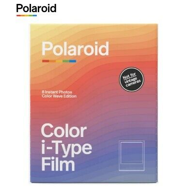 Polaroid COLOR WAVE Frames i-Type Instant Film for NOW OneStep+ OneStep 2