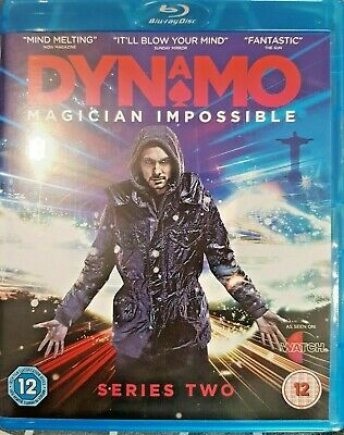 Dynamo Magician Impossible Series 2 Blu ray free post uk