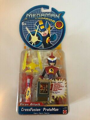 Figure Virus Attack Heatguts Style Megaman Warrior Includes Battlechip M-Cannon