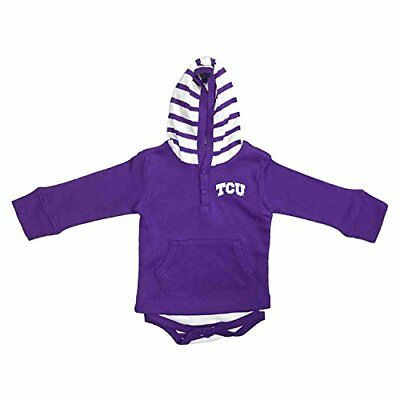 Two Feet Ahead NCAA Kansas State Wildcats Children Unisex Layette Gown,One Size,Purple