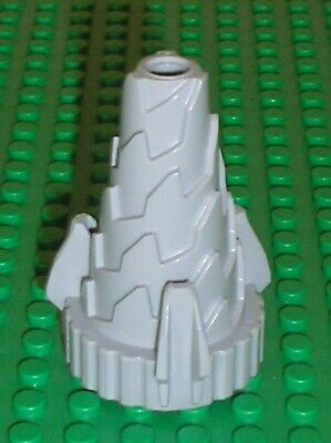 x 1 LEGO PART 64713 LIGHT TAN SPIRAL CONE JAGGED STEP DRILL