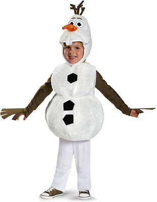 Frozen Olaf Child Costume Snowman Disguise - FREE SHIPPING
