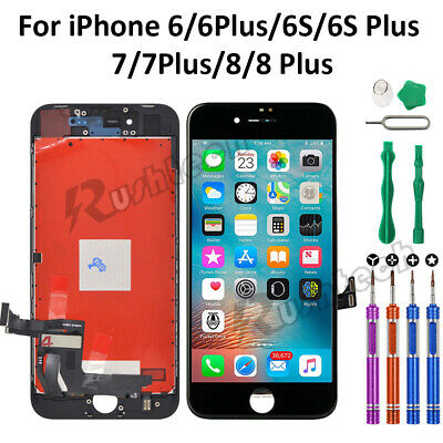 iPhone 8 8 Plus LCD Touch Display Screen Digitizer Replacement OEM+9 In 1 Tools