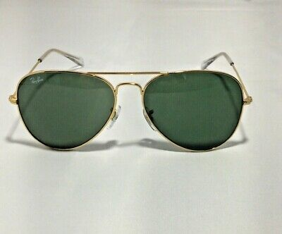 Ray-Ban RB3025 Aviator Classic L0205 Gold Frame/Green Classic G-15 Lenses 58mm