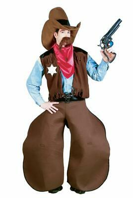 Old Cowhand Western Cowboy Costume Adult Standard