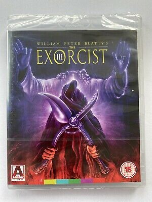 THE EXORCIST III - 2 Disc Arrow Video Special Edition BLU RAY - NEW