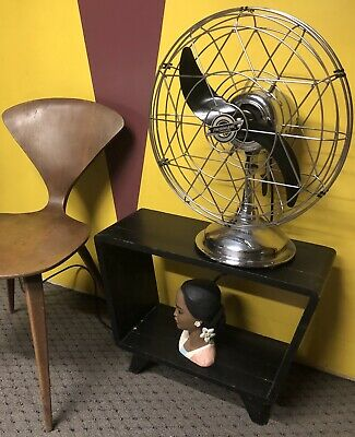 Vintage FRESH'ND AIRE Model 1700Electric Fan W/ Airplane Blade WORKS GREAT!