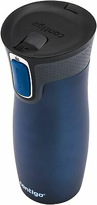 Contigo AutoSeal Travel Mug Vacuum Insulated Spill & Leak Proof 470ml  BRAND NEW