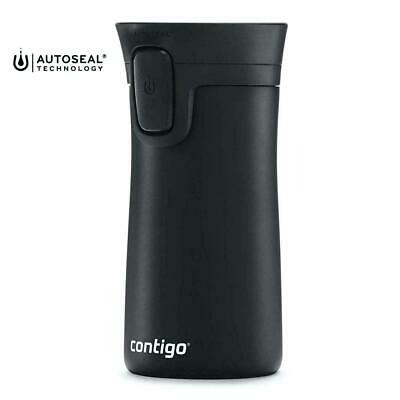 Contigo AutoSeal Matte Black Travel Mug Spill & Leak Proof 300ml  BRAND NEW