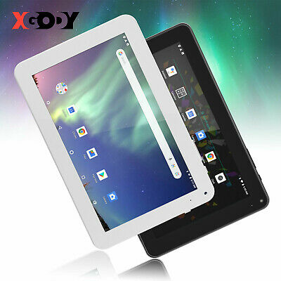 "2019 9/"" Inch Android Tablet PC 16GB Quad Core Dual Camera Bluetooth Wifi  UK"