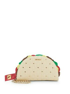 Limited Edition Betsey Johnson Kitsch Taco Wristlet