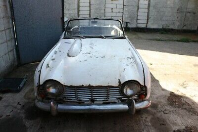 1962 Triumph  Tr4 Project Car. Requires Complete Restoration
