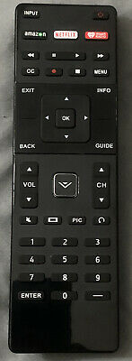 USBRMT Replaced XRT122 Smart TV Remote For Vizio Amazon/Netflix/iHeart Key