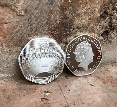STEPHEN HAWKING 50P SOUVENIR COIN / Kew Gardens Collection (please read details)