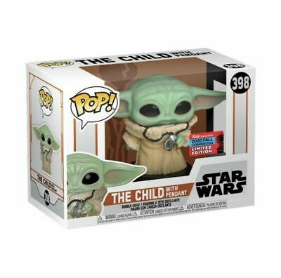 Star Wars Mandalorian - Child with necklace Funko Pop! SHARED NYCC 2020 PREORDER
