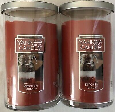 Yankee Candle Kitchen Spice 22 Oz New Lot Of 2 Free Shipping 33 21 Picclick Uk