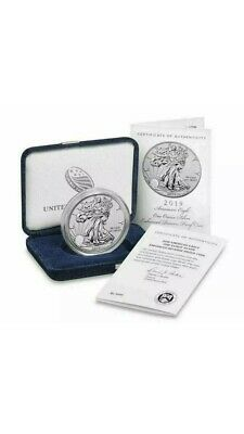American Eagle 2019 Silver Enhanced Reverse Proof Coin *Still Sealed Never Open*