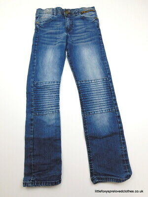 9-10 years boys Pep&Co straight jeans stylish comfy denim trousers blue
