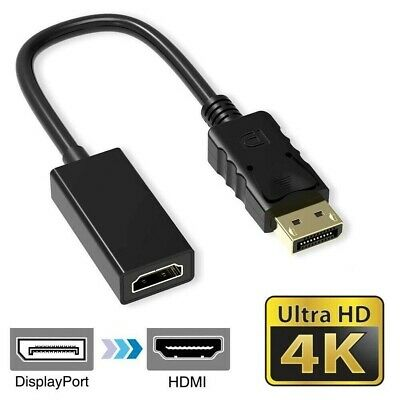 4K Display Port DP To HDMI Female Câble Adaptateur Converter Port for HDTV