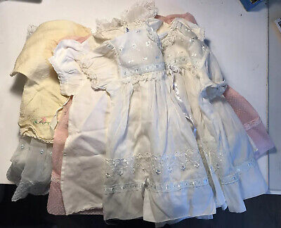 Lot Vintage Baby Girl Clothes Mostly Pretty Dresses