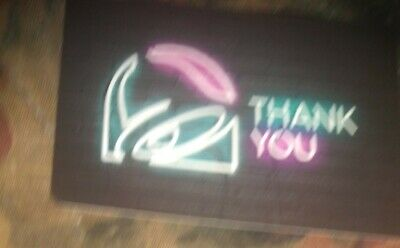 Taco Bell * Brand New Collectible Gift Card NO VALUE * Thank You