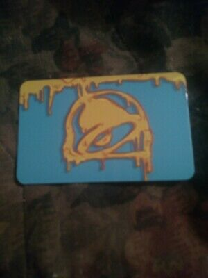 Taco Bell * Brand New Collectible Gift Card NO VALUE * 6179 w/holder Aqua