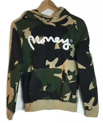 Money Boys Girls Camo Military Army Hoodie Sweater Sweatshirt 12 Designer