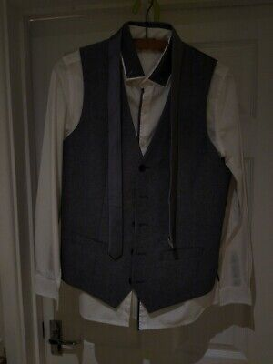 Gorgeous Boys Special Occasion Suit with Shirt and Tie, Aged 12-14