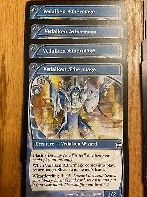 Magic Card MTG Future Sight Vedalken Aethermage