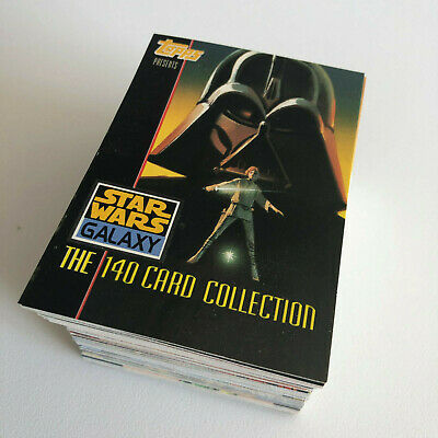 Star Wars Galaxy Series 1 - Incomplet Set 150 Cartes - Trade Trading Cards
