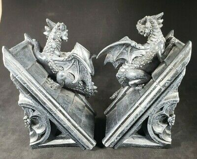 Cute Baby Sweet Dreams Pair of Dragon Bookends DRG475
