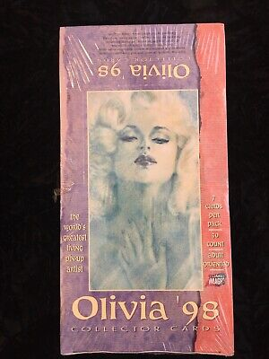 Olivia '98 Collector Cards - Sealed Trading Card Box - Comic Images 1998