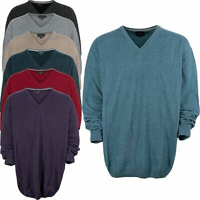 Kitaro Pullover Sweater Knitted Men/'s Long Sleeve Collar Cotton Size XXL