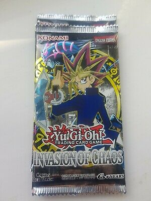 invasion of chaos empty booster pack mint