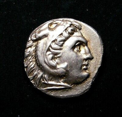 Alexander the Great (336-323 BC) Stunning Drachm. Ancient Greek Silver Coin.